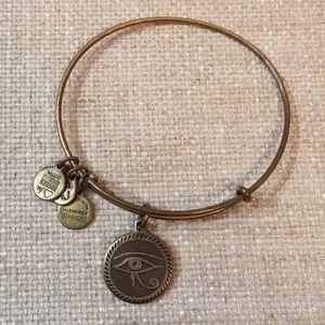 Gold Alex and Ani bracelet